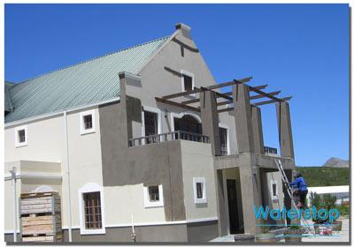 Waterstop waterproofing contractor helderberg south africa for Balcony upstand
